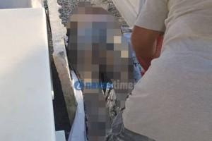 Το ελληνικό νεκροταφείο που δεν λιώνουν οι νεκροί: Προσοχή σκληρές εικόνες!