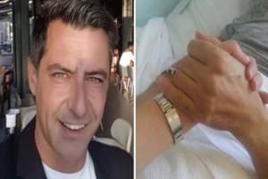 Κωνσταντίνος Αγγελίδης: Η συγκινητική γιορτή για τον παρουσιαστή! Το ανατριχιαστικό μήνυμα της συζύγου του!