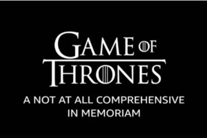 Το Imdb αποχαιρετά το Game of thrones με ένα τρομερό βίντεο (Video)