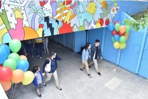 Πώς ο ΟΠΑΠ έβαλε χρώμα και διασκέδαση σε μία υπόγεια διάβαση