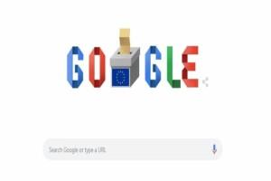 Google Doodle: Αφιερωμένο στις Eυρωεκλογές 2019!