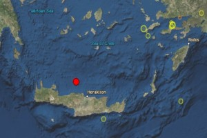 Σεισμός 3,6 Ρίχτερ στη Κρήτη!