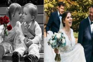 Νίκησαν μαζί τον καρκίνο όταν ήταν παιδιά και πριν λίγες μέρες παντρεύτηκαν!