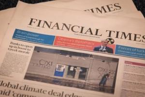 "Financial Times: ""Η ελληνική οικονομία δείχνει πολλά υποσχόμενα σημάδια ανάπτυξης"""