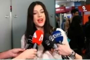 Κατερίνα Ντούσκα: Οι πρώτες δηλώσεις, μετά την επιστροφή! (video)