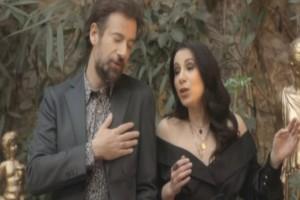 Κωστής Μαραβέγιας: Tραγουδά με τη νικήτρια του φετινού The Voice! (Video)