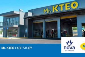 Συνεργασία Nova και Mr. KTEO: Επένδυση στις σύγχρονες τεχνολογίες που αποδίδει!
