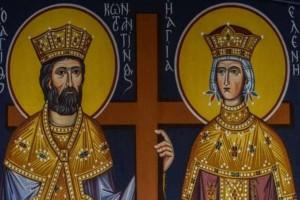 Η φωτογραφία της ημέρας: Κωνσταντίνου και Ελένης, η μεγάλη γιορτή της Ορθοδοξίας!