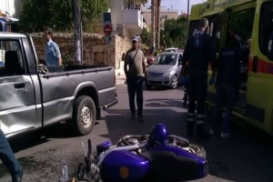 Χανιά: Tροχαίο ατύχημα,στο νοσοκομείο ο οδηγός!