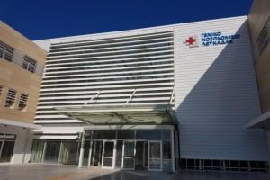 """Οπαδός του Τσίπρα κάνει...""""γήπεδο"""" τα εγκαίνια του Νοσοκομείου Λευκάδας! [Βίντεο]"""