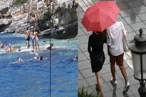 Τρελάθηκε ο καιρός: Πού ο υδράργυρος θα φτάσει 40 βαθμούς και πού έρχονται καταιγίδες;