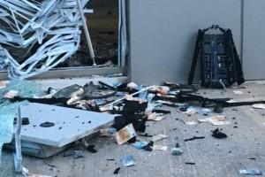 Γλυφάδα: Έκρηξη σε ΑΤΜ - Σκόρπισαν παντού λεφτά!