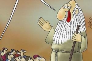 Αρκάς: Δύο νέα αιχμηρά σκίτσα για τους Έλληνες ψηφοφόρους!