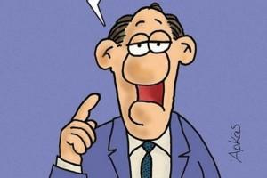 Αρκάς: Νέο  σκίτσο για τις «γλώσσες» του πρωθυπουργού!