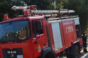 Λάρισα: Δυο φωτιές σε εξέλιξη!
