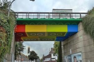 Μια γέφυρα φτιαγμένη απο Lego;