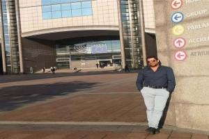 Τουρίστας στο...Ευρωκοινοβούλιο ο Αλέξης Γεωργούλης!