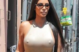 Αδιανόητο: Η Kim Kardashian ξέχασε να φορέσει σουτιέν!