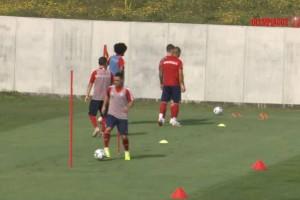 Ολυμπιακός: Ξεκίνησε η προπόνηση για το ματς στη Πολωνία! (video)