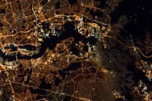 Κουίζ: Αναγνωρίστε τις μεγάλεις πόλεις όπως φαίνονται από το διάστημα!