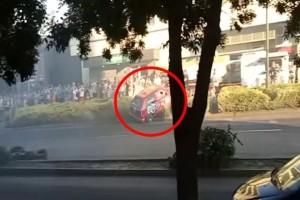 Σοκαριστική σύγκρουση σε ράλι στην Ουγγαρία! (Video)