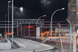 Ισπανία: Έκρηξη και πυρκαγιά σε διυλιστήριο πετρελαίου!