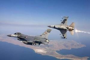 Μπαράζ επιθέσεων από τουρκικά μαχητικά!