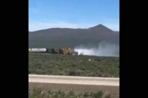 ΗΠΑ: Εκτροχιάστηκε τρένο με όπλα και εκρηκτικά!