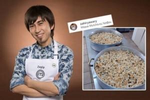 Ο Ζαχίρ απο το MasterChef βρίσκεται στη Λέσβο και μαγειρεύει για τους μετανάστες!