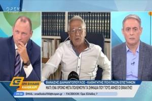 Θανάσης Διαμαντόπουλος: «Πώς γλίτωσα από τη φωτιά στο Μάτι» (Video)