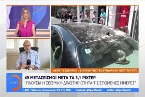 Άκης Τσελέντης: «Πλούσια η σεισμική δραστηριότητα τις επόμενες ημέρες»