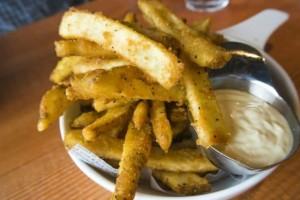 Αλευρωμένες τηγανιτές πατάτες!
