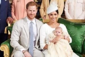 Πρίγκιπας Χάρι - Μέγκαν Μαρκλ: Σε πελάγη ευτυχίας στη βάφτιση του γιου τους!