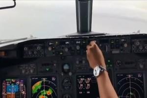 Τρόμο προκαλούν οι εικόνες από την στιγμή της πτώσης του Boeing 737! (Video)