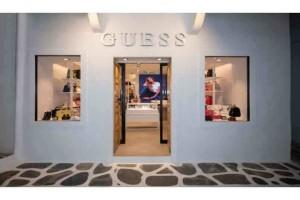 GUESS: Ολοκαίνουργιο κατάστημα στην καρδιά της Μυκόνου!