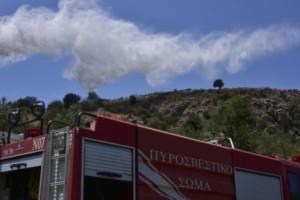 Συναγερμός στην Κεφαλονιά: Καίγεται η Σάμη!