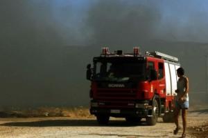 Ζάκυνθος: Φωτιά καίει δασική περιοχή!