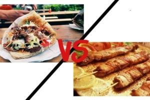 Σουβλάκι: Xοιρινό καλαμάκι η γύρος; Ποιο είναι πιο υγιεινό;