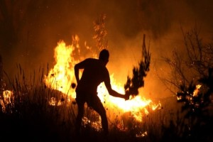 Πυρκαγιά στον Άγιο Νικόλαο!