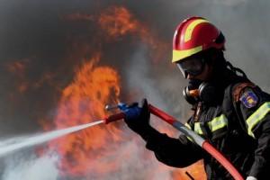 Φωτιά ξέσπασε στο κέντρο του Ηράκλειου!