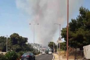 Πυρκαγιά στη Ραφήνα ακριβώς ένα χρόνο μετά το Μάτι! (photo)