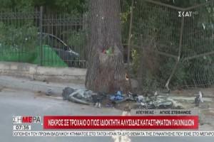«Είδα ένα μαύρο πράγμα αγκαλιασμένο στο δέντρο» -  Σοκάρουν οι μαρτυρίες για τον Ζαχαριά! (Video)