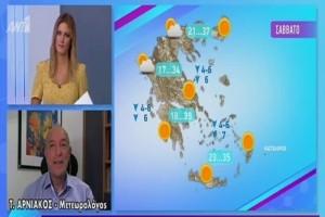 Τάσος Αρνιακός: Ανεβαίνει επικίνδυνα η θερμοκρασία!  (Video)