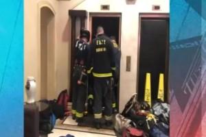 Φρικτός θάνατος για 30χρονο: Τον συνέθλιψε ασανσέρ! (Video)