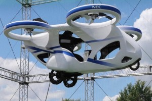 Aυτό είναι το «ιπτάμενο αυτοκίνητο» του μέλλοντος! (Video)