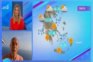 Τάσος Αρνιακός: Ζέστη, συννεφιά και σκόνη! «Σκαρφαλώνει» ο υδράργυρος! (Video)