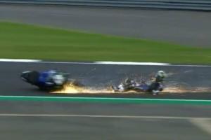 Τρομακτικό ατύχημα στο MotoGP:  Πήρε φωτιά Ducati! (Video)