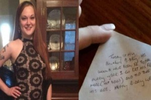 Ένας άνδρας άφησε 36$ φιλοδώρημα και έφυγε γρήγορα αφήνοντας πίσω του ένα σημείωμα - Η σερβιτόρα που τα βρήκε ξέσπασε σε λυγμούς!
