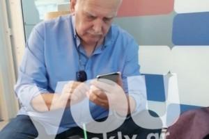 Γιώργος Παπαδάκης: «Τσακωτός» στο αεροδρόμιο με γυναίκα! Ποια είχε δίπλα του;