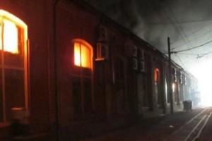 Ουκρανία: Οκτώ νεκροί από φωτιά σε ξενοδοχείο! (photos)